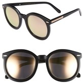 Karen Walker Women's 'Super Duper Superstars' 53Mm Sunglasses - Black With Rose Gold