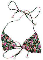 Tori Praver Floral Swimsuit Top w/ Tags