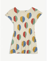 Bobo Choses Tree print organic cotton dress 4-11 years