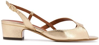 Michel Vivien Asymmetric Strap Sandals