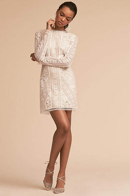 Anthropologie Cason Wedding Guest Dress