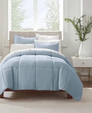 Serta Simply Clean Twin Extra Long Comforter Set, 2 Piece Bedding