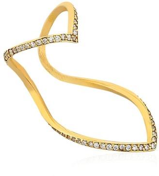 Seeme Diamonds Wrap Heart Ring