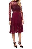 Self-Portrait Symm Midi Dress