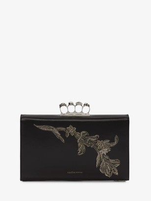 Alexander McQueen Four-Ring Zipper Pouch
