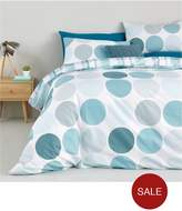 Catherine Lansfield Falmouth Reversible Twin Pack Duvet Set - Sb