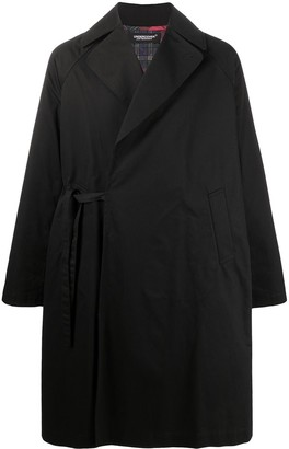 Undercover Oversized Side-Tie Fastening Coat