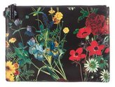 Alice + Olivia Floral Print Leather Clutch