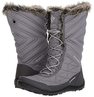 Columbia Minx Mid III (Ti Grey Steel/Grey) Women's Cold Weather Boots