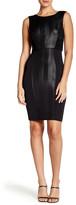 Rachel Roy Mixed Media Twofer Mini Dress