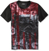 William Rast Men's Dripping Graphic-Print T-Shirt