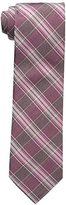 Calvin Klein Men's Crystal Plaid Tie