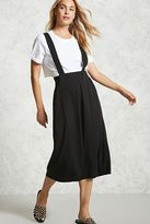 Forever 21 High-Waist Culotte Overalls