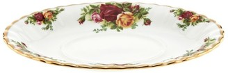 Royal Albert Old Country Roses Gravy Boat Stand (21Cm)