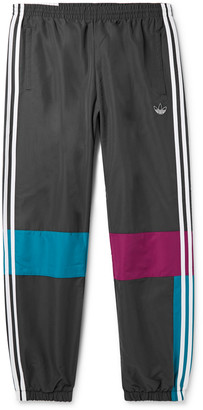 adidas Tapered Colour-Block Shell Track Pants