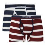 Soulcal Block Stripe Trunks