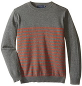Toobydoo Harrison Crew Neck Sweater (Toddler/Little Kids/Big Kids)