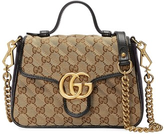 Gucci mini GG Marmont tote bag