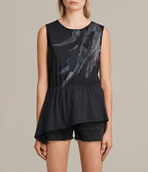 AllSaints Flight Waisty Tee
