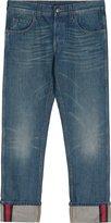 Gucci Men's 430368xr1914551 Blue Cotton Jeans