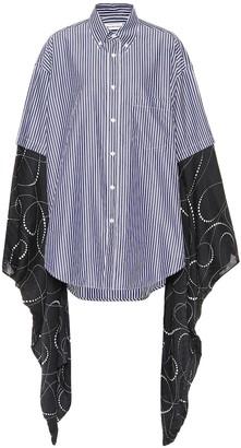 Balenciaga Kimono-sleeve cotton shirt