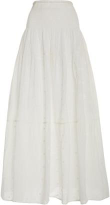 Anaak Clara Semi-Sheer Cotton Maxi Skirt