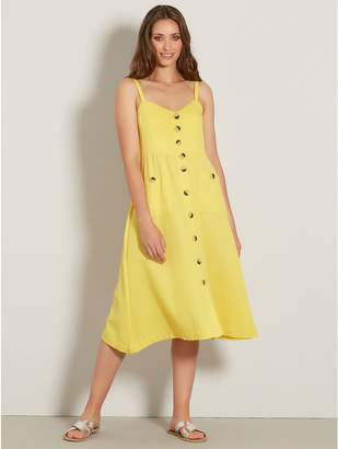 M&Co VILA button front dress