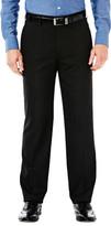 Haggar J. M. Premium Stretch Dress Slack - Straight Fit, Flat Front, Flex Waistband