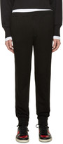 Alexander Wang Black Vintage Fleece Lounge Pants