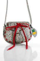 Carmina Campus Vibram Gray Speckled Recycled Small Crossbody Handbag SS16