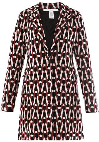 Diane von Furstenberg Andy coat