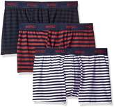 Wesc Men's 3-Pack Boxer Brief Stripe