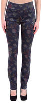 Lola Jeans Floral Print High-Rise Straight Jeans