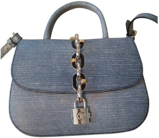 Louis Vuitton Chain It Blue Leather Handbags