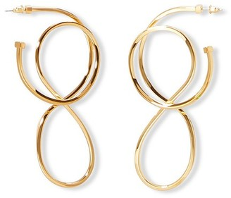 Balenciaga Metal earrings