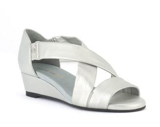 David Tate Criss-Cross Wedge Sandals - Swell