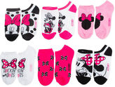JCPenney DISNEY MINNIE Disney Minnie Mouse 5-pk. No-Show Socks - Girls