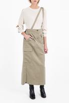 Helmut Lang Bamboo Cargo Skirt