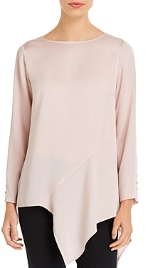 Vince Camuto Hammered Satin Blouse - 100% Exclusive