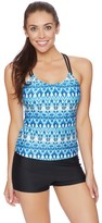 Next Native Mantra Third Eye 2 Shirr Tankini Top