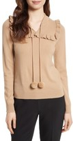 Kate Spade Women's Pompom Wool & Cashmere Sweater