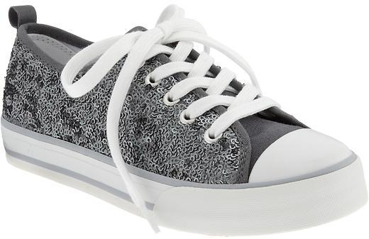 Old Navy Girls Sequined Sneakers