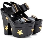 Stella McCartney Embellished platform sandals