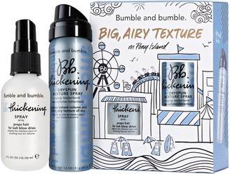 Bumble and Bumble Big, Airy Texture Travel Size Thickening Set