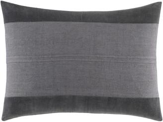 Vera Wang Shadow Stripe Linen Pillow
