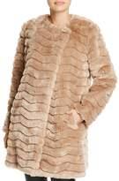 BB Dakota McCoy Quilted Faux Fur Jacket