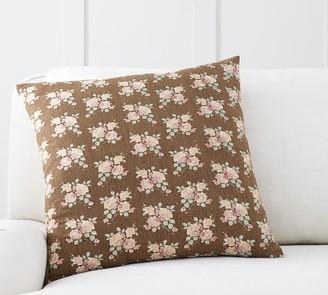 Pottery Barn Emma Print Pillow Cover