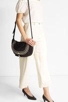 Sonia Rykiel Embellished Leather Shoulder Bag
