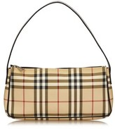 Burberry Pre-owned: Plaid Pvc Shoulder Bag.