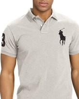 Polo Ralph Lauren Custom-Fit Big Pony Mesh Slim Fit Polo Shirt